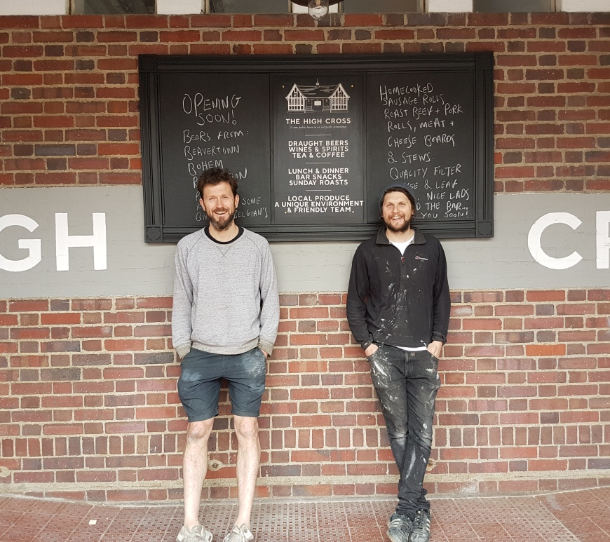Chris and Alex from The High Cross, Tottenham