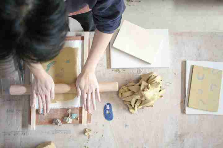 Assemble and Matthew Raw, Clay Station, for Art on the Underground, 2017. Image courtesy of Assemble. (1)i