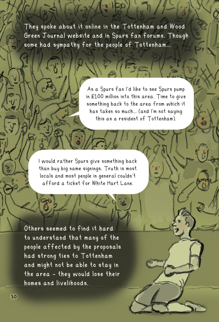 Illustrations from the book. Thoughts from Spurs fans.