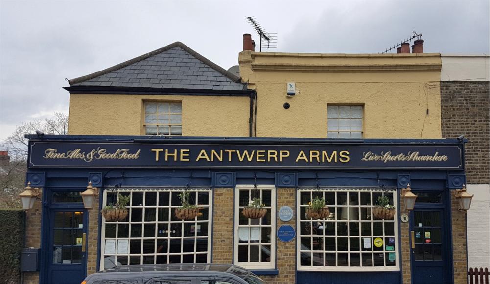 Antwerp Arms Association third birthday and Spurs Secret History Walk (06/05/18)